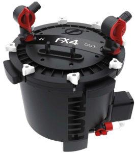 The Fluval FX4 canister filter design