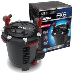Fluval FX6 review shot of product in and out of box